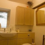 Modern Bathroom at Yew Trees Cottage